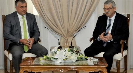 Kalyoncu received Mazedonian Mayors