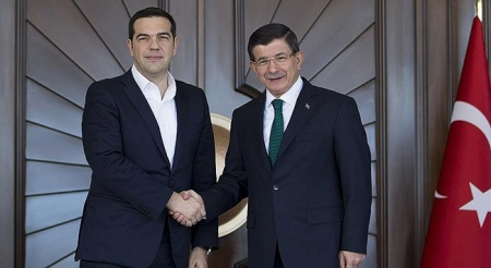 Sipras and Davutoglu