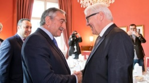 Akinci met with German Foreign Minister