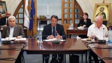 Anastasiades - No National Council Meeting