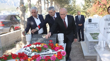 Berberoglu commemorated