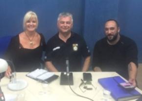 Denise Phillips, Steve Collard and Umit Karana