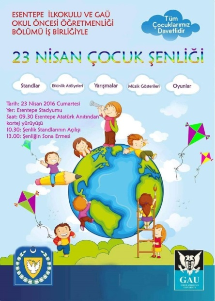 Esentepe Children's Day poster