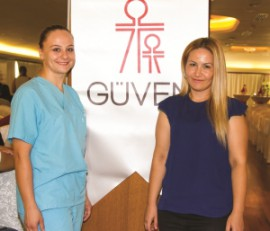 Guven Hospital representatives