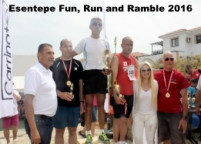 l-r Şukru Karakaya, Tamar Isırgan,  Burcu Karakaya and Robbie Roper image