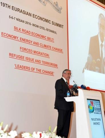 Mustafa Akinci - Eurasian Summit