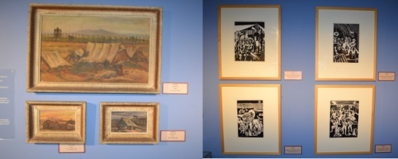 Paintings by interned Jews