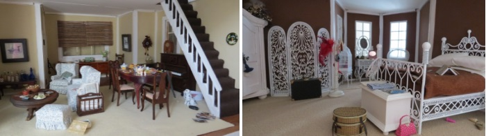 Stairs and bedroom