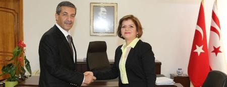 Tahsin Ertugruloglu and Emine Colak