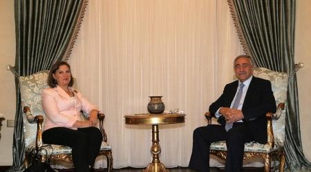 Victoria Nuland and Mustafa Akinci