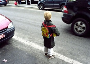 Child in Traffic