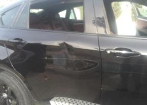 Damaged car image