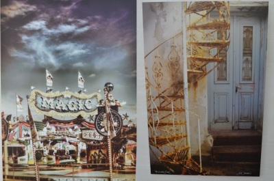 Fairground and door-stairs