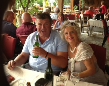Geoff Carter-Brown and Judy Vizzard