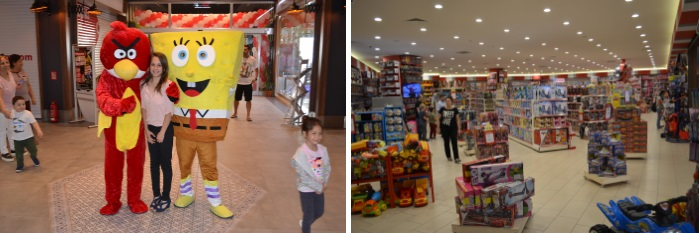 Photo time and toy store