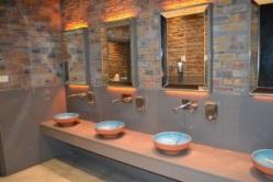 Toilet area