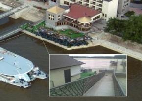 Danube in flood IMAGE