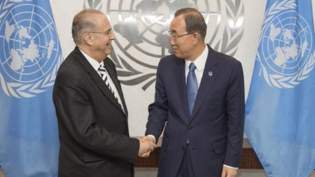 Kasulidis and Ban ki Moon