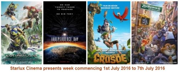 Starlux Cinema 1st July
