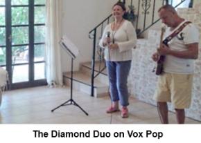 The Diamond Duo on Vox Pop