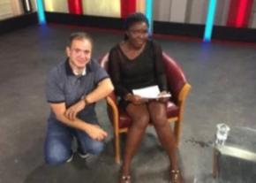 Can Gazi and Vivian Okorie