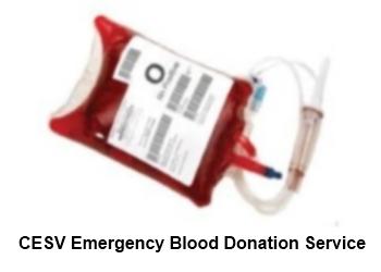 CESV Emergency Blood Donation Service