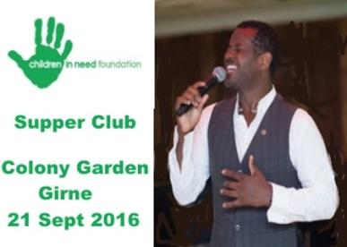 Supper Club 21 Sept