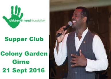 Supper Club 21 Sept