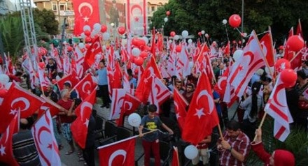 Democracy Rally Lefkosa