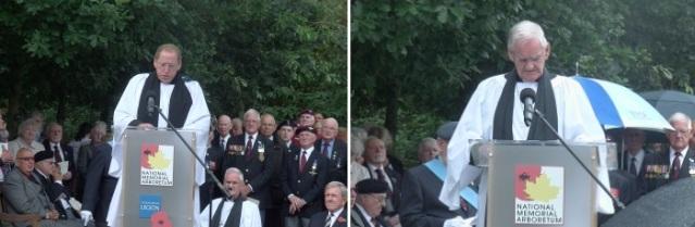 Rev. Canon David Wilbraham and Chaplain Rev. Alan Bowley