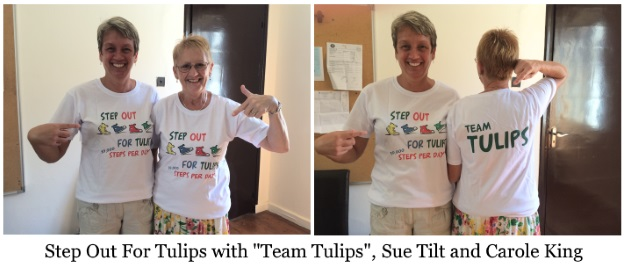 Step Out for Tulips with Team Tulips