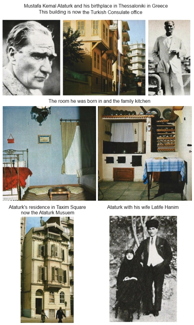 The life of Mustafa Kemal Ataturk