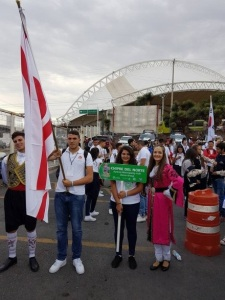 TRNC flag in Mexico