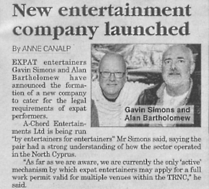 Cyprus today 3rd Sept A-Chord Entertainments Ltd sml