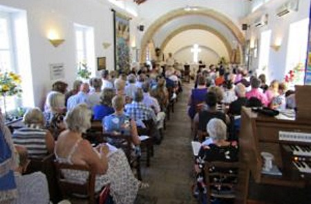 North Cyprus - Social Life - St Andrew's Church, Harvest Festival Review