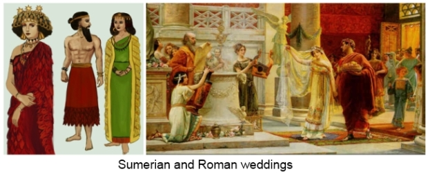 sumerians-and-roman-weddings