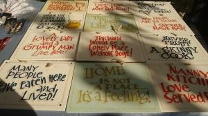 Linda's ceramic plaques
