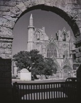 church-through-archway